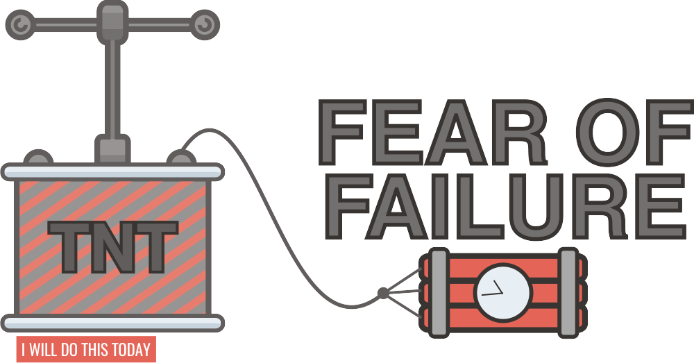 Destroy the fear of failure